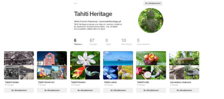 Tahiti Heritage publie ses photos sur Pinterest.