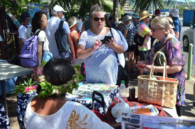 Lundi, le Soleal et le Radiance of the sea ont fait escale à Papeete avec leurs 2414 passagers.