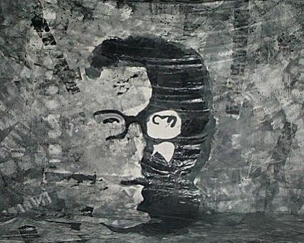 portrait de Samuel Raapoto réalisé par les élèves