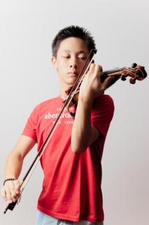 Le jeune Ludovic Chan sera au violon.