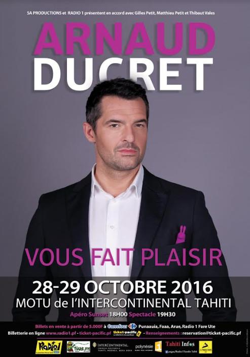 """Arnaud Ducret : """"Je ferai tout pour leur faire plaisir"""""""