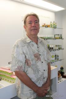 Phlippe Maunier, patron de la Savonnerie de Tahiti, a créé la marque Heiva pour ses produits.