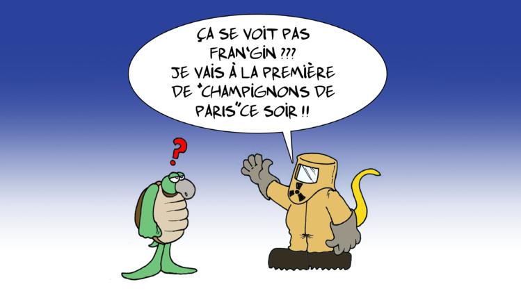 """"""" Les champignons de Paris """" vu par Munoz"""