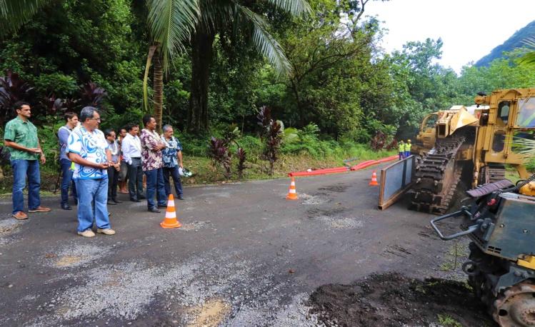 Lancement des travaux de bouclage du réseau de transport électrique de Tahiti