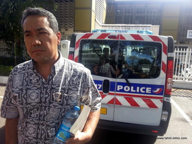 Placé en garde à vue à 8 h 25, Marcel Tuihani a été autorisé à quitter le commissariat à 15 h.