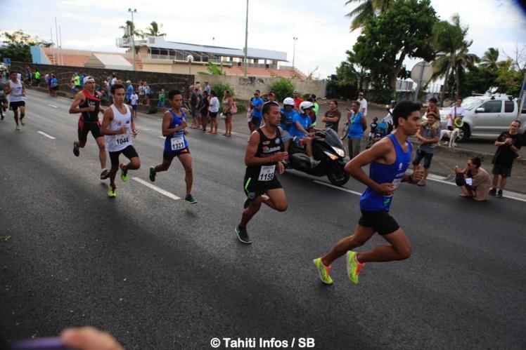 Cédric Wane s'est aligné sur le 5km et sur le 15km