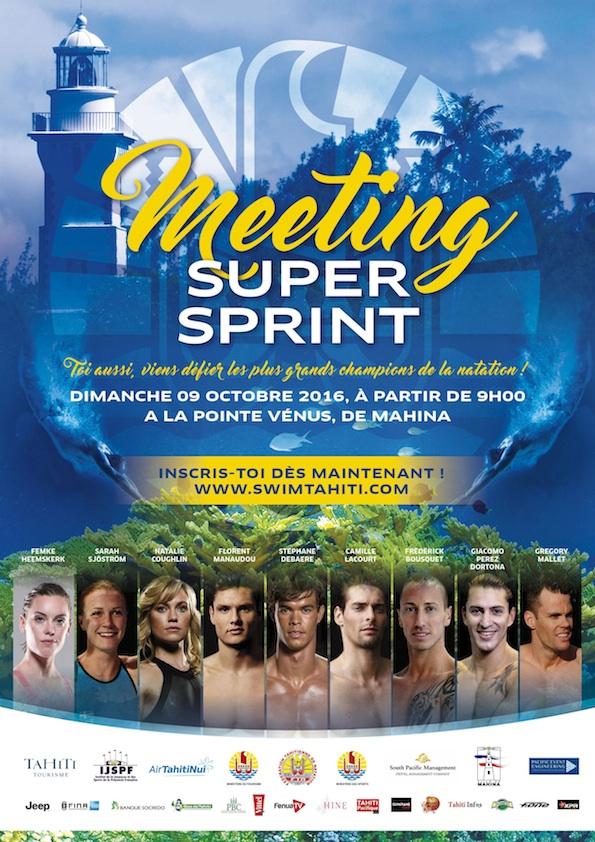 Natation – Super Sprint « Olympique » : Les inscriptions sont ouvertes