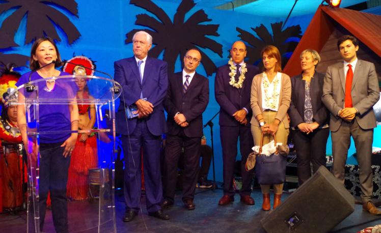 La Déléguée de la Polynésie française inaugure la Foire de Montluçon