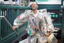 A New York, un homme-ordures pour éveiller les consciences