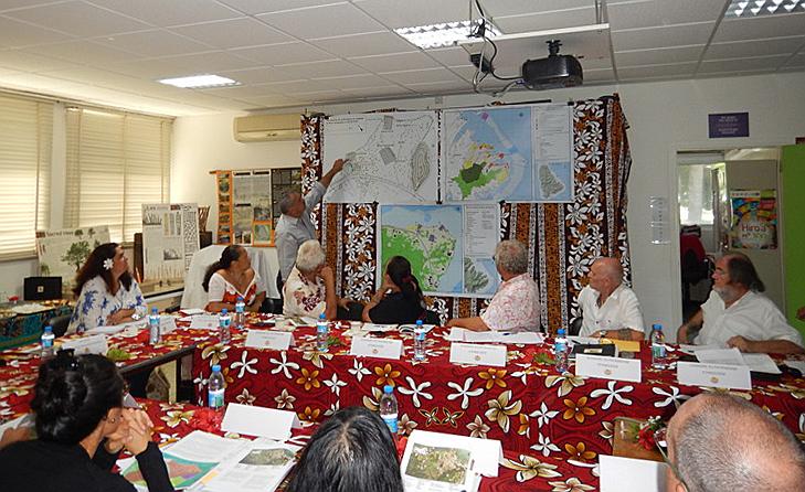 Avis favorable au classement de la péninsule de Matahirai'terai de Taputapuatea