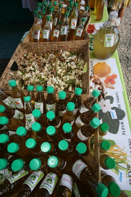 Trésor de la Foire agricole : Le vrai monoï de Titaua