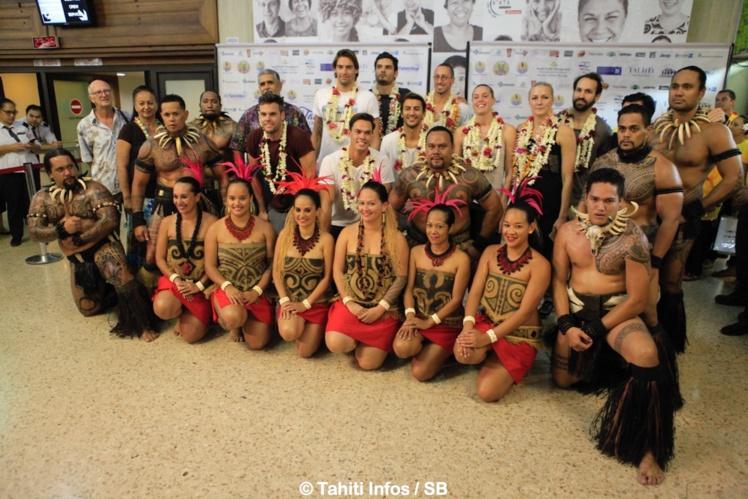 Natation – Tahiti Swimming Experience : Les champions sont arrivés à Tahiti