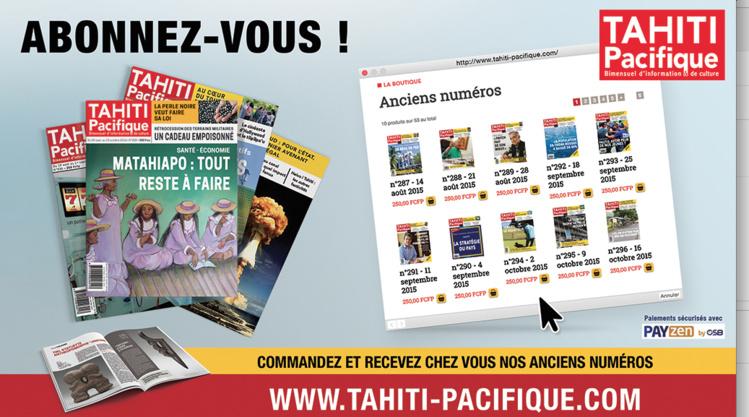 La nouvelle ligne de Tahiti Pacifique
