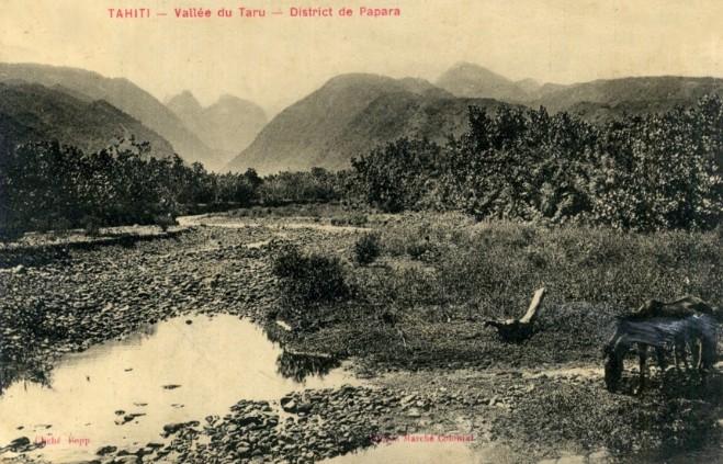 Vallée de la Tahaaru. Photo Bobb
