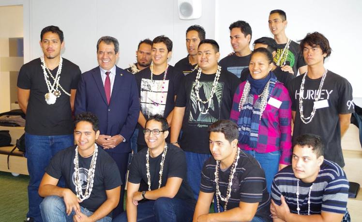 A Paris, Engie accueille 14 jeunes Polynésiens en formation