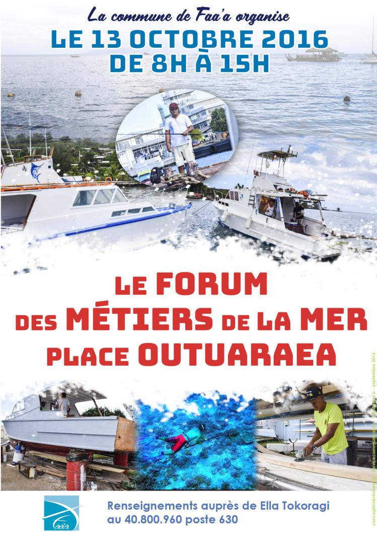 Forum des métiers à Faa'a le 13 octobre