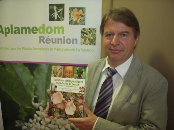 Jacques Fleurentin, président de la Société française d'ethnopharmacologie