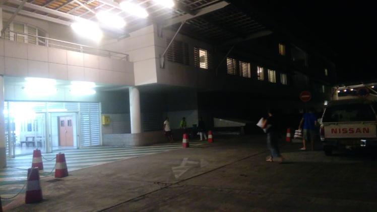 Black out à l'hôpital du Taaone