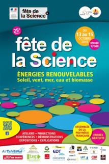 Top départ pour la Fête de la Science 2016