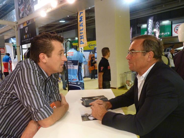 Benoit Rivals et Bernard Hinault