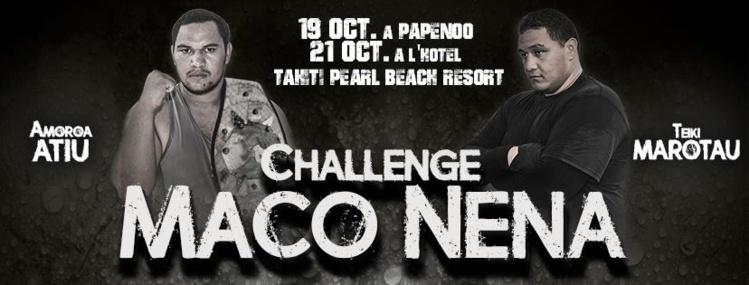 Boxe amateur – Challenge Maco Nena : Amoroa Atiu (PYF) vs Jahsaiah Pomare (NZ)
