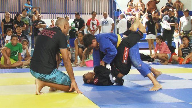 La relève du Jiu jitsu Brésilien de Tahiti s'organsie