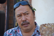 Atonia Teriinohorai, secrétaire général d'O Oe To Oe Rima