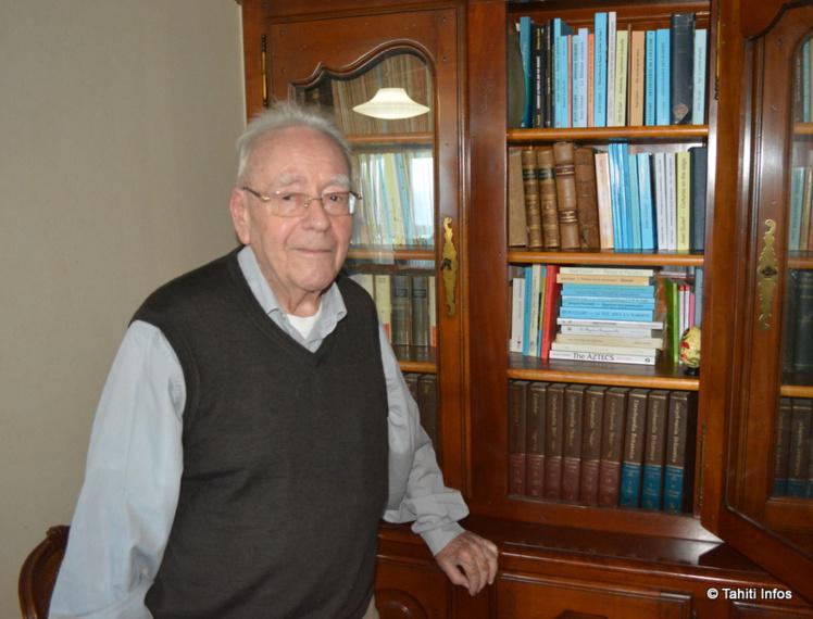 A 91 ans, l'ethnologue Jean Guiart est un auteur et éditeur extrêmement actif.