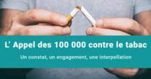 """""""Appel des 100.000"""" pour mobiliser les professionnels de santé contre le tabac"""
