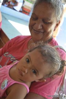 Iléana et sa petite-fille