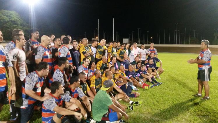 Les vétérans du rugby étaient à l'honneur samedi dernier à Fautaua