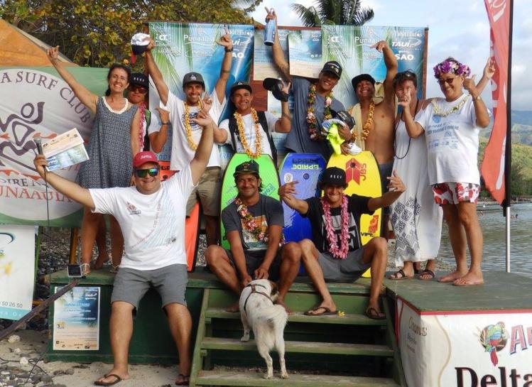 La compétition a mis le surf et le bodyboard à l'honneur