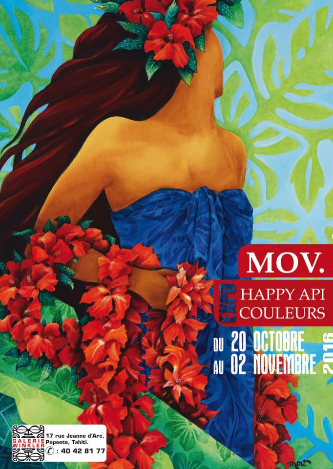 """Exposition """"Happy api couleurs"""" de Mov : vernissage ce soir à la galerie Winkler"""