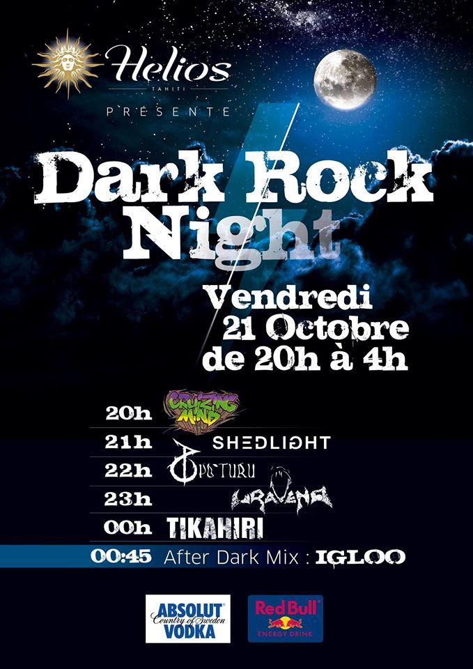 """""""Dark Rock Night"""" : rendez-vous demain à l'Helios pour un concert underground enflammé !"""