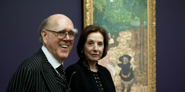 Spencer et Marlene Hays, le couple de collectionneurs.