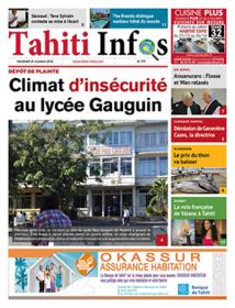 TAHITI INFOS N°771 du 21 octobre 2016