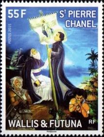 Les postes de Wallis et Futuna ne pouvaient faire moins que de rendre hommage au martyr de Futuna.