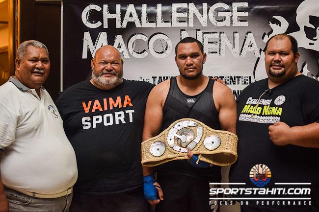 Amoroa Atiu remporte la ceinture pour la deuxième fois
