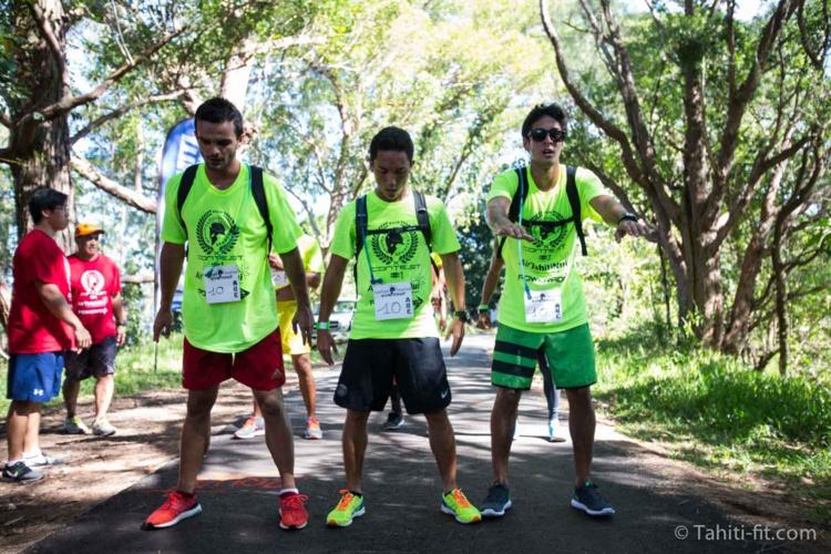 Raihau Chin, Ariihoe Tefaafana et Maui Lee Tham