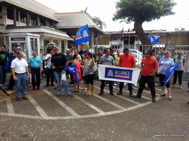 L'antenne locale du syndicat Alliance avait déjà appelé à manifester en octobre 2015 contre la politique pénale du garde des Sceaux de l'époque, Christiane Taubira. (Archives)