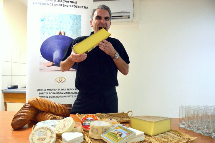 Olivier Poulard, un maître Fromagier en Polynésie