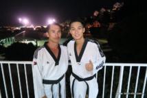 Teddy Teng, champion de taekwondo combatif et passionné