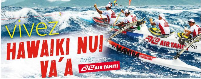 Air Tahiti affrete plus de 40 vols supplémentaires pour l'Hawaiki Nui Va'a