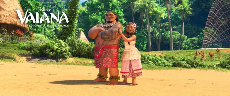 Les parents de Vaiana.