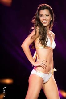 C'est la seconde fois que Tahiti participait à ce concours de beauté.