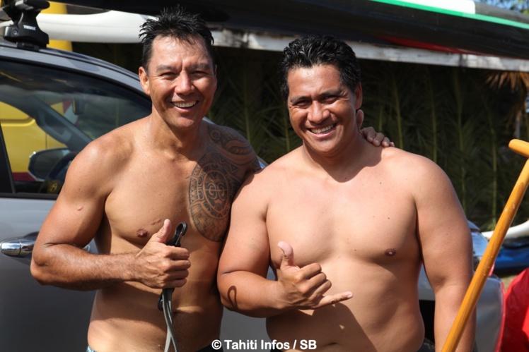 Wilfred Ah Min et Rauhiri Varuahi, deux vétérans au top