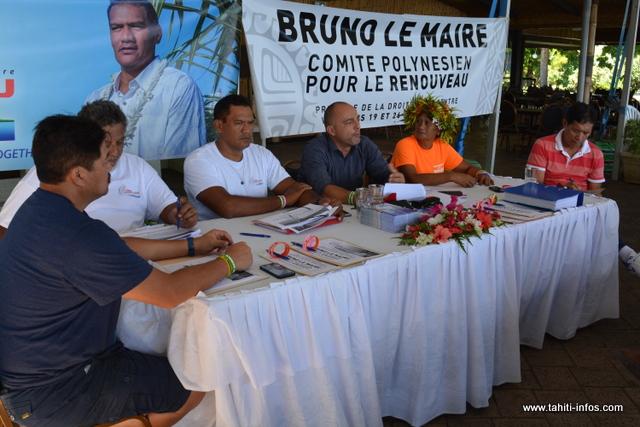 Tau Hotu Rau soutiendra un candidat républicain pour la primaire de la droite et du centre qui se tiendra les 19 et 26 novembre en Polynésie.