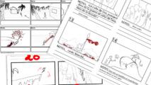 Les élèves de première année en sont à apprendre les bases permettant de raconter une histoire, à commencer par les story boards.