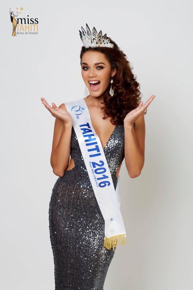 Vaea Ferrand, Miss Tahiti 2016, compte parmi les 30 plus belles femmes de France.