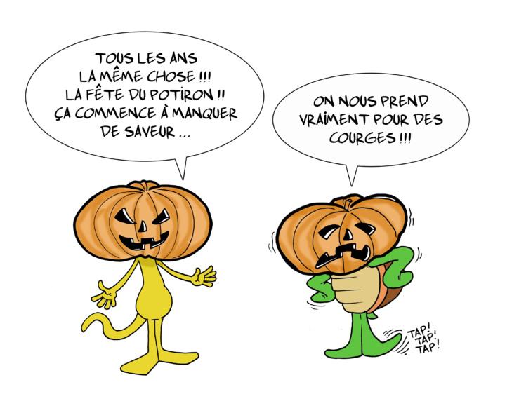 """"""" Halloween """" vu par Munoz"""